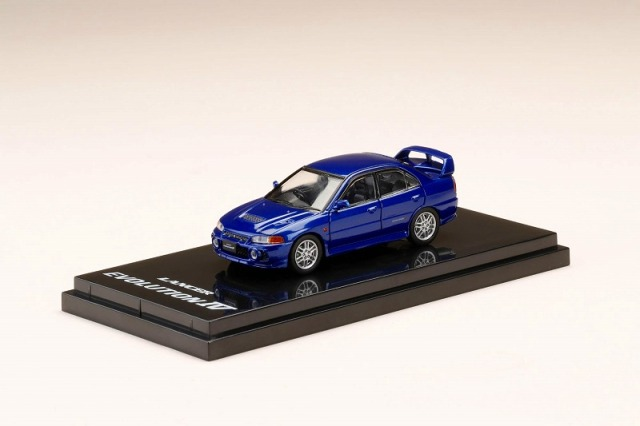 Hobby JAPAN 1/64 Mitsubishi Lancer GSR Evolution IV (CN9A) Ijssei Blue