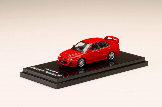 Hobby JAPAN 1/64 Mitsubishi Lancer GSR Evolution IV (CN9A) Palmer Red