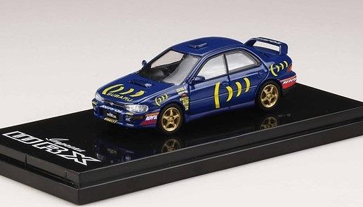 HobbyJapan 1/64 スバル インプレッサ WRX GC8 Sti Ver.II スポーツブルー スポーツブルー/デカール