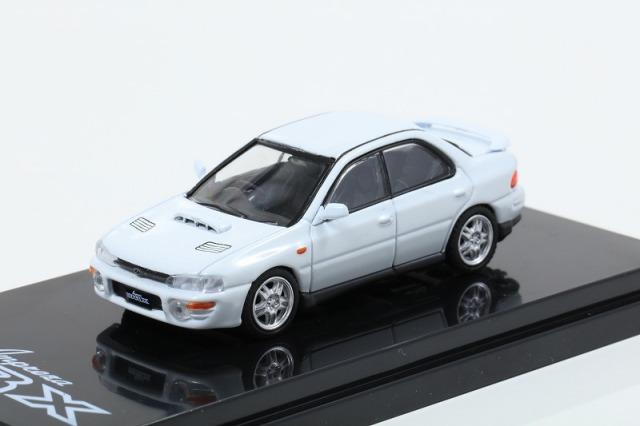 HobbyJapan 1/64 スバル インプレッサ WRX GC8 フェザーホワイト