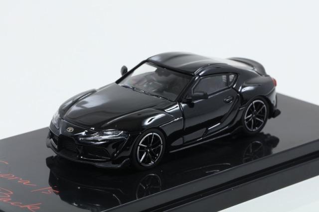 HobbyJapan 1/64 トヨタ GR スープラ(A90) RZ ブラックメタリック