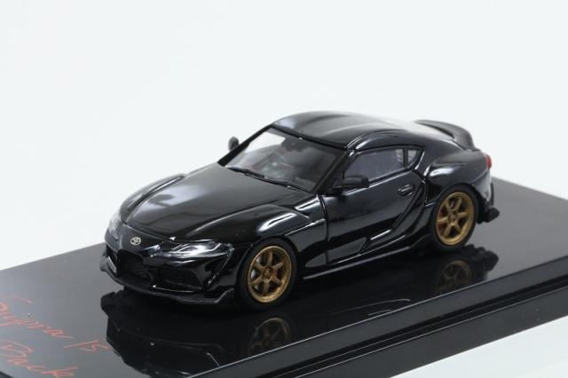 HobbyJapan 1/64 トヨタ GR スープラ(A90) RZ カスタムバージョン ブラックメタリック