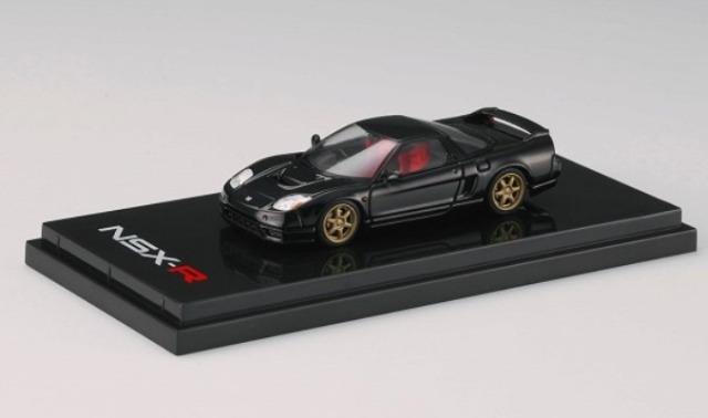 HobbyJapan 1/64 Honda NSX-R (NA2) Customized Ver. Berlina Black