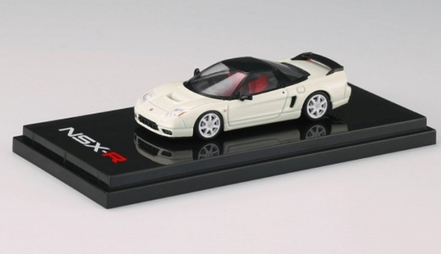 HobbyJapan 1/64 Honda NSX-R (NA2) Championship White