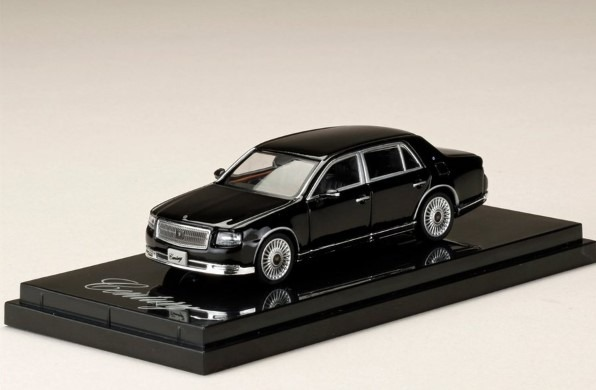 HobbyJapan 1/64 Toyota CENTURY UWG60 神威 Etarnal Black