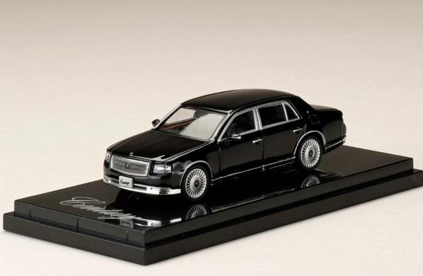 HobbyJapan 1/64 Toyota CENTURY UWG60 神威 Etarnal Black