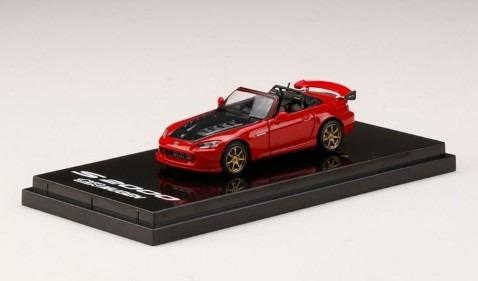 <予約 2021/1月発売予定> HobbyJapan 1/64 Mugen S2000 ニューフォーミュラレッド