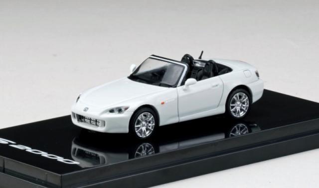 HobbyJapan 1/64 Honda S2000 (AP1) Type 200  Grandprix white