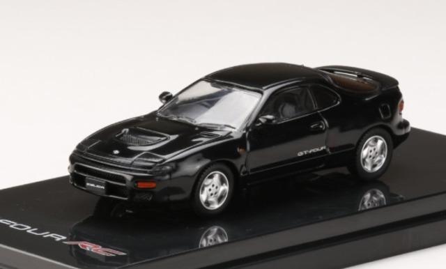 HobbyJapan 1/64 トヨタ セリカ GT-FOUR RC ST185 ブラック