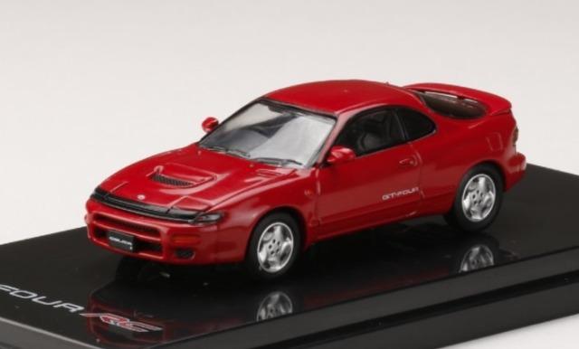 HobbyJapan 1/64 トヨタ セリカ GT-FOUR RC ST185 スーパーレッドII