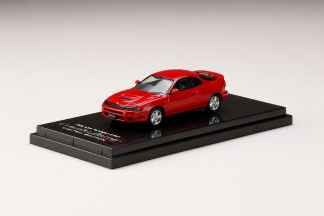 HobbyJapan 1/64 トヨタ セリカ TURBO 4WD CARLOS SAINZ LIMITED EDITION (右ハンドル) スーパーレッドII