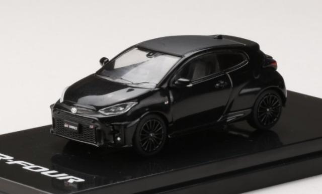 HobbyJapan 1/64 Toyota GR YARIS RZ PRECIOUS BLACK PEARL