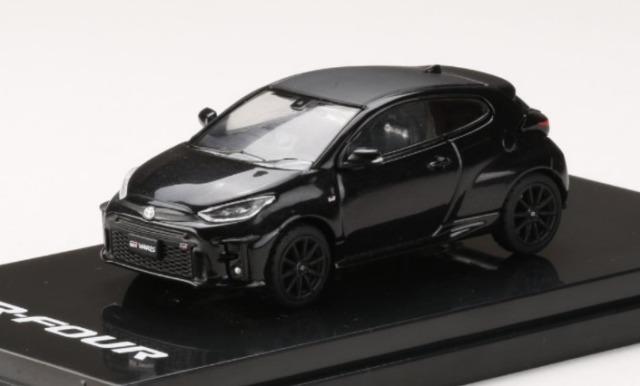"HobbyJapan 1/64 Toyota GR YARIS RZ""High-performance"" PRECIOUS BLACK PEARL"