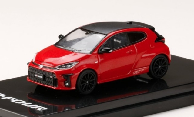 "HobbyJapan 1/64 Toyota GR YARIS RZ""High-performance"" EMOTIONAL RED II"