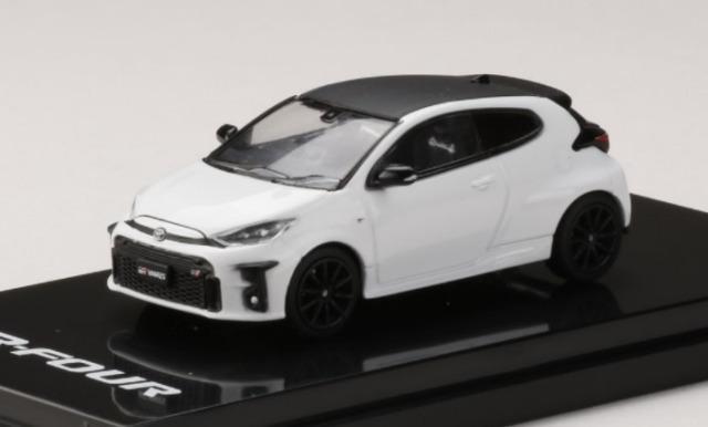 "HobbyJapan 1/64 Toyota GR YARIS RZ""High-performance"" SUPER WHITE II"
