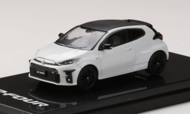 HobbyJapan 1/64 Toyota GR YARIS RZ PLATINUM WHITE PEARL MICA