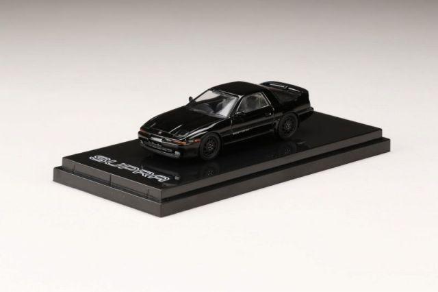 HobbyJapan 1/64 Toyota SUPRA (A70) 3.0GT TURBO A Black