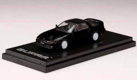 HobbyJapan 1/64 Toyota SUPRA (A70) 3.0GT TURBO LIMITED 1989 BLACK MICA