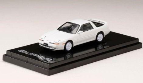 HobbyJapan 1/64 Toyota SUPRA (A70) 3.0GT TURBO LIMITED 1989 SUPER WHITE III