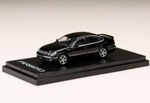 <予約 7月以降発売予定> HobbyJapan 1/64 トヨタアリストV300  VERTEX EDITION ブラック