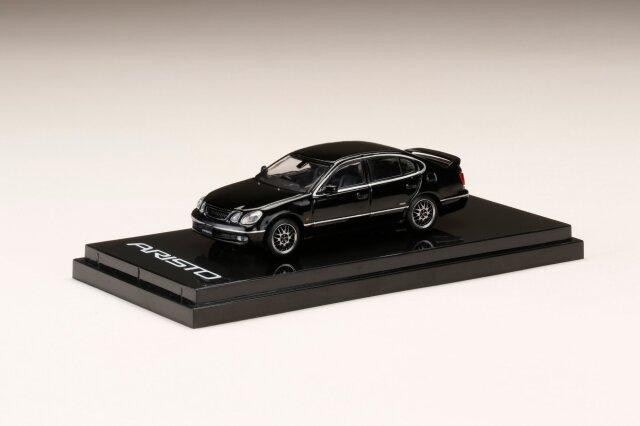 <予約 7月以降発売予定> HobbyJapan 1/64 トヨタアリストV300  VERTEX EDITION カスタムバージョン ブラック