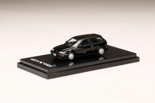 HobbyJapan 1/64 Honda CIVIC (EF9) SiR II Black Metallic