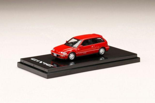 HobbyJapan 1/64 Honda CIVIC (EF9) SiR II Red