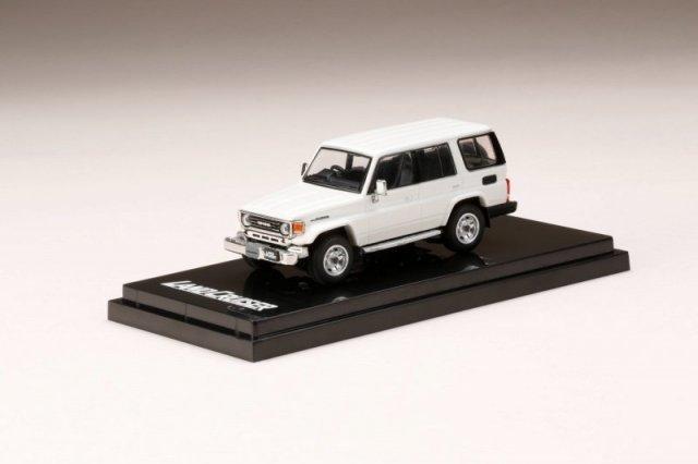 <予約 2021/12月発売予定> HobbyJapan 1/64 トヨタ ランドクルーザー 70 ZX 4DOOR 1994 ホワイト