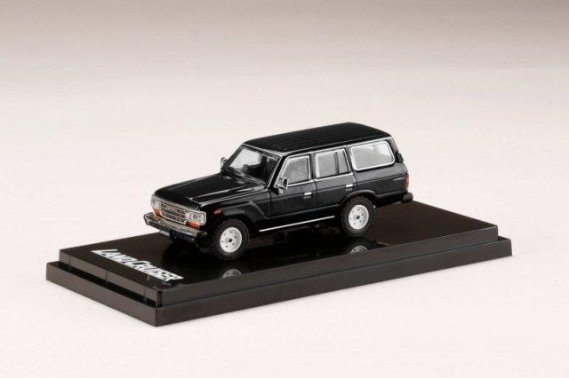 <予約 2021/12月発売予定> HobbyJapan 1/64 トヨタ ランドクルーザー 60 GX 1988 ブラック