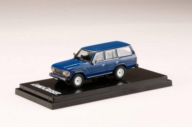 <予約 2021/12月発売予定> HobbyJapan 1/64 トヨタ ランドクルーザー 60 GX 1988 ブルー