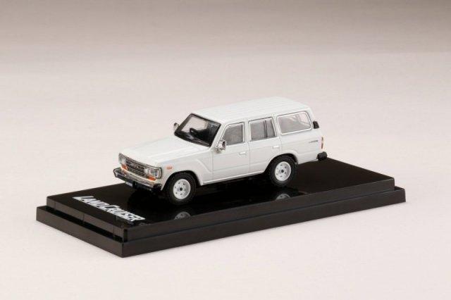 <予約 2021/12月発売予定> HobbyJapan 1/64 トヨタ ランドクルーザー 60 GX 1988 ホワイト