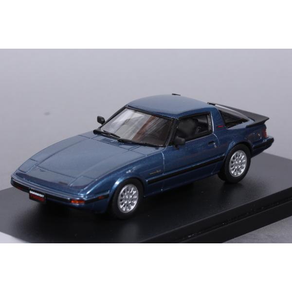【Hi-Story】 1/43 マツダ サバンナ RX-7 Turbo GT The IMSA Special 1985 (キャナルブルーメタリック) *宮沢模型流通限定