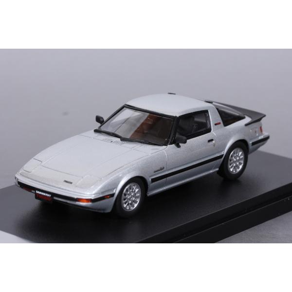 【Hi-Story】 1/43 マツダ サバンナ RX-7 Turbo GT The IMSA Special 1985 (サンビームシルバー) *宮沢模型流通限定