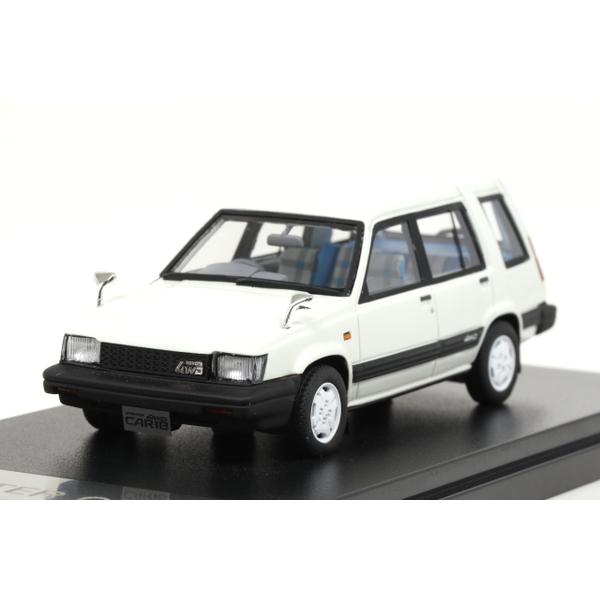 【Hi-Story】 1/43 Toyota SPRINTER CARIB AV-II 1985 (ホワイト)