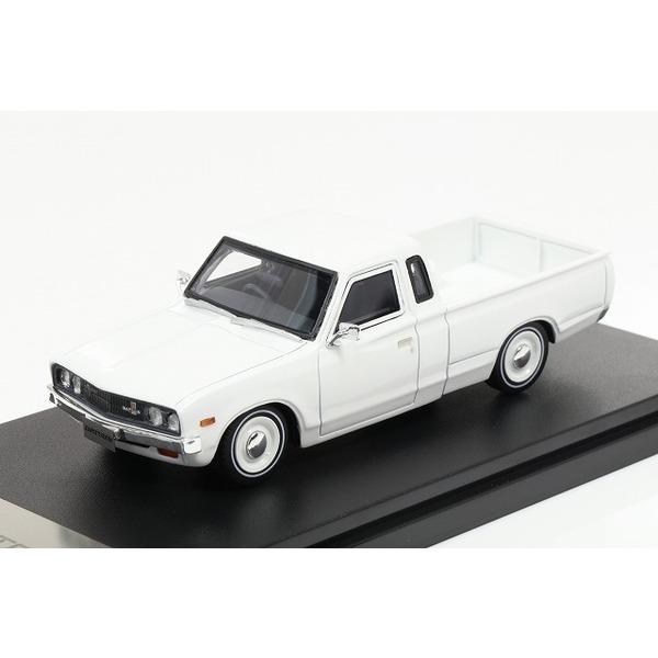 【ハイストーリー】 1/43 日産 ダットサン トラック カスタム DX L ローダウン 1979 ホワイト