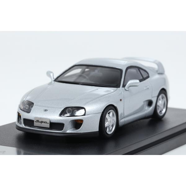 【Hi-Story】 1/43 Toyota SUPRA RZ (1995) シルバーメタリック