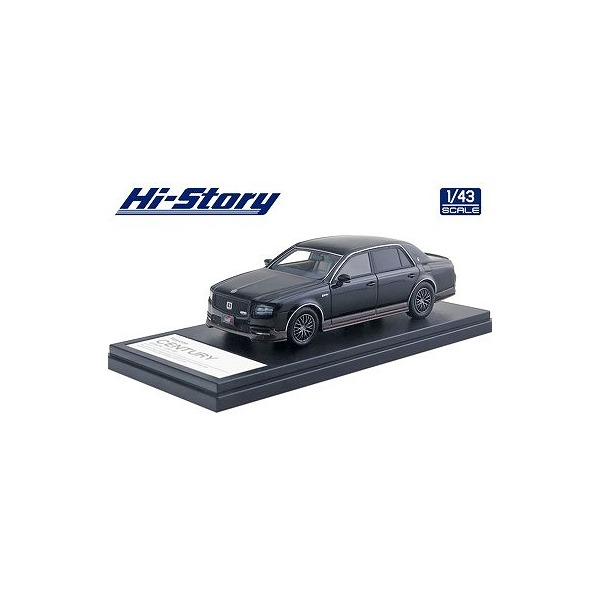 【Hi-Story】 1/43 Toyota CENTURY GRMN(2018) 神威 エターナルブラック