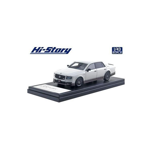 【Hi-Story】 1/43 Toyota CENTURY GRMN(2018) ホワイト