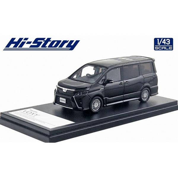 【Hi-Story】 1/43 Toyota VOXY HYBRID ZS 2019 ブラック