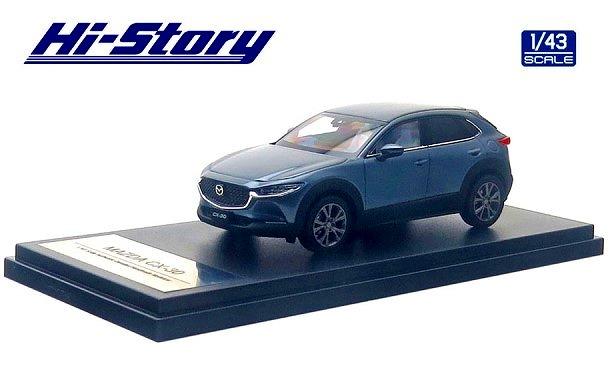 Hi-Story 1/43 MAZDA CX-30(2019) ポリメタルグレーメタリック