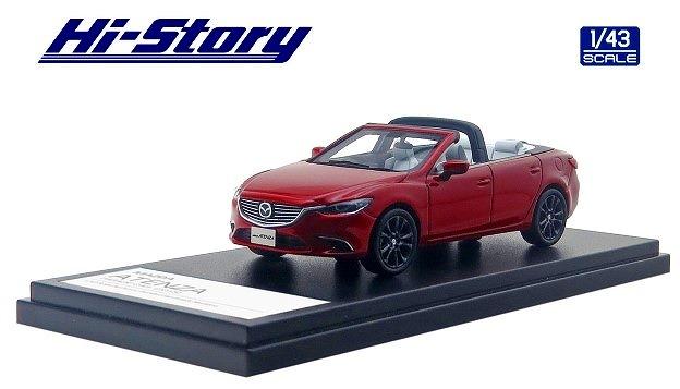 Hi-Story 1/43 MAZDA ATENZA PARADE CAR 2015 ソウルレッドプレミアムメタリック