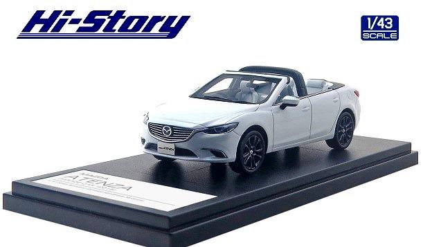 Hi-Story 1/43 MAZDA ATENZA PARADE CAR 2015 スノーフレイクホワイトパールマイカ
