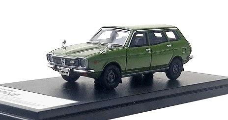 Hi-Story 1/43 SUBARU LEONE ESTATE VAN 4WD(1972) ビレッジグリーン