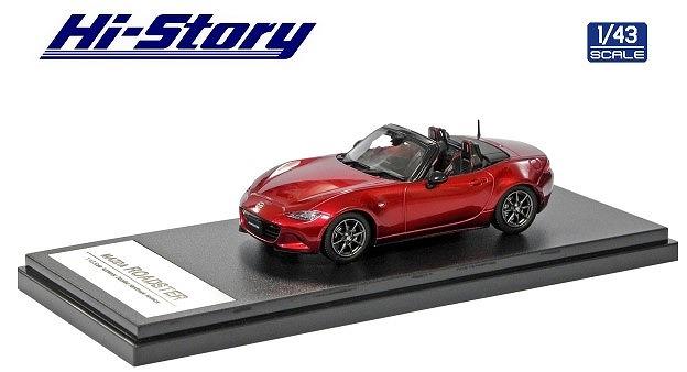 Hi-Story 1/43 MAZDA ROADSTER RS 2015 ソウルレッドクリスタルメタリック
