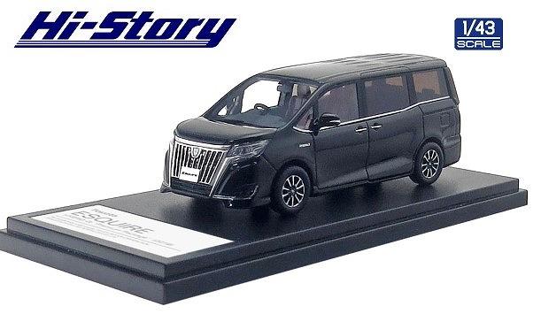 Hi-Story 1/43 Toyota ESQUIRE HYBRID Gi  Premium Package (2019) ブラック