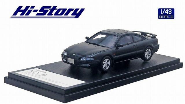 Hi-Story 1/43 MAZDA MX-6 2500 V6(1992) ブリリアントブラック