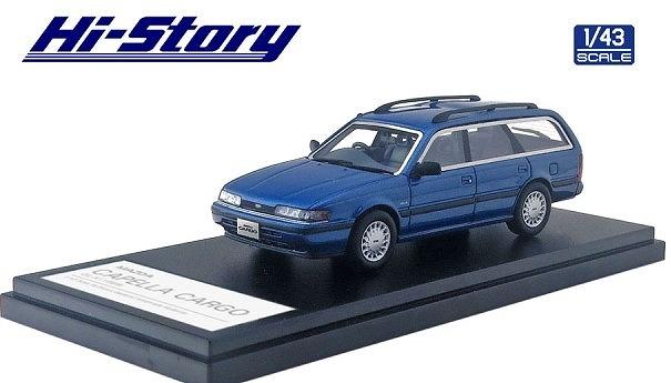 Hi-Story 1/43 MAZDA CAPELLA CARGO GL-X(1989) グレイスフルレッドマイカ