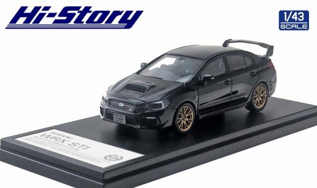 <予約> [Hi-Story] 1/43 SUBARU WRX STI  EJ20 Final Edition (2019)  クリスタルブラックシリカ