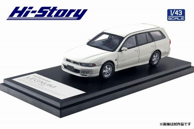 Hi-Story 1/43 MITSUBISHI LEGNUM VR-4 type-S (1996) ソフィアホワイト