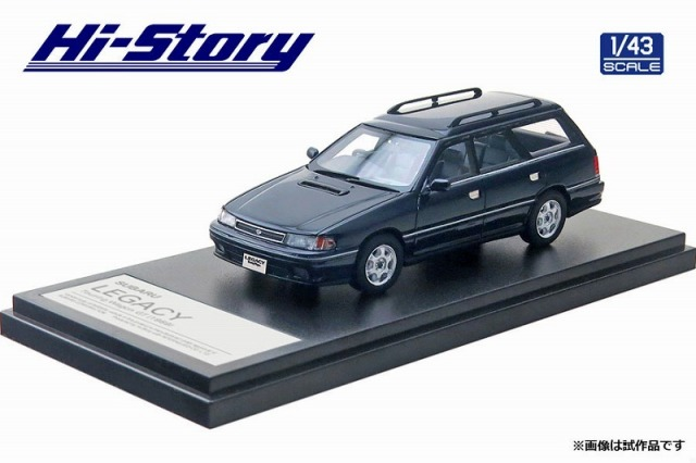 Hi-Story 1/43 SUBARU LEGACY Touring Wagon GT(1989) インディゴブルーメタリック